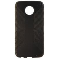 Speck Presidio GRIP Series Protective Case Cover for Moto Z2 Play - Black