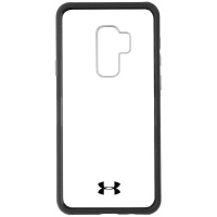 Under Armour Verge Series Hybrid Case for Samsung Galaxy S9+ (Plus) - Clear/Gray