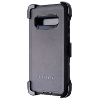 OtterBox Defender Series Case and Holster for Samsung Galaxy S10+ (Plus) - Black