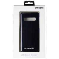 Samsung LED Back Cover Slim Case for Samsung Galaxy S10 - Black