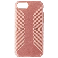 Speck Presidio Grip + Glitter Case for iPhone 8 / iPhone 7 - Gloss Pink/Glitter