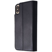 Case-Mate Wallet Folio Case for Apple iPhone XS Max - Black (With Button Covers)