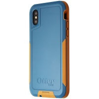 OtterBox Pursuit Series Case for Apple iPhone XS / X - Autumn Lake (Blue/Brown)