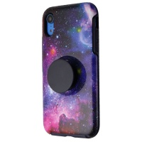 Otterbox + Pop Symmetry Series Phone Case for iPhone XR - Blue Nebula