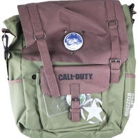 Official Call of Duty WWII Back Pack - Army Green / Brown / Black / White