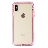 LifeProof NEXT Series Case for Apple iPhone Xs Max - Cactus Rose / Clear