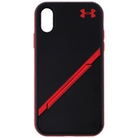 Under Armour UA Protect Kickstash Series Case for Apple iPhone XR - Black/Red