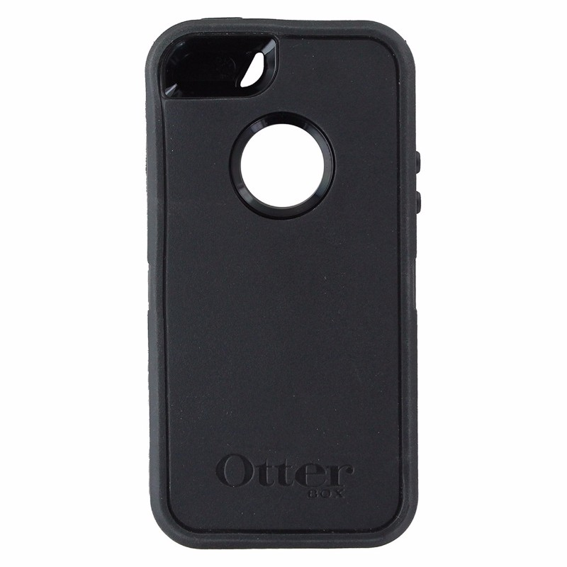 OtterBox Defender Case and Holster for Apple iPhone SE / 5s / 5 - Black