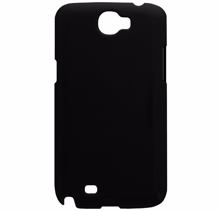 Case-Mate Slim Hardshell Case for Samsung Galaxy Note2 - Matte Black