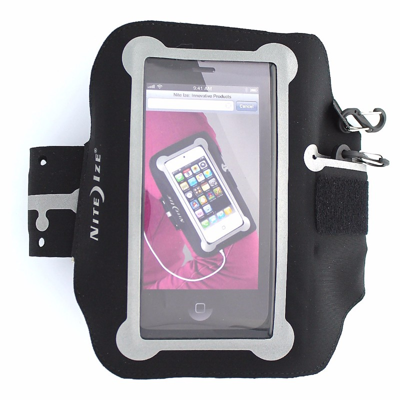 Nite Ize NIPB2-01-R8 Action Armband for iPhone 5 - Large - Retail Packaging