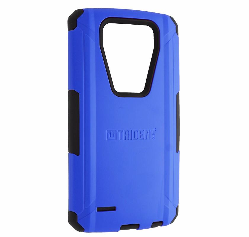 Trident Aegis Series Dual Layer Hard Case for LG G4 Smartphones - Blue / Black