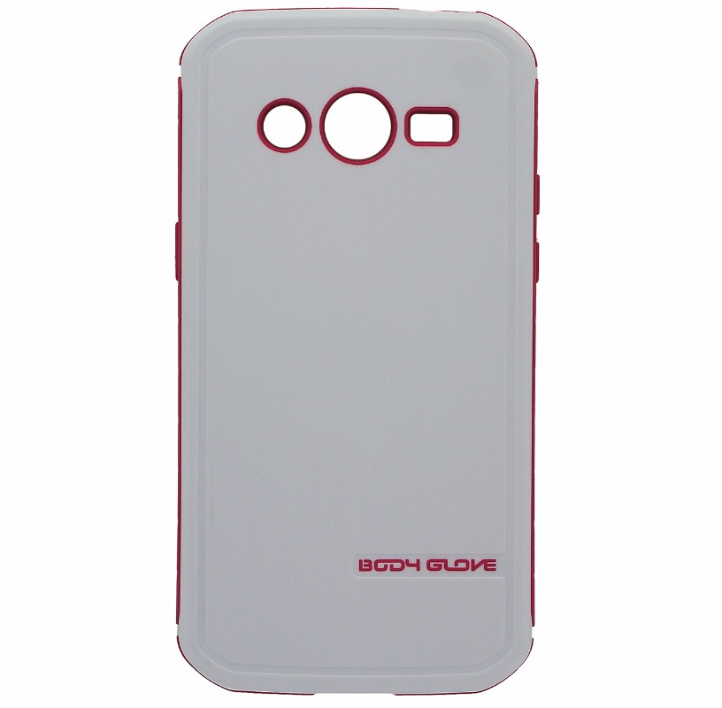 Body Glove Fusion Pro Case for Samsung Galaxy Avant White and Pink