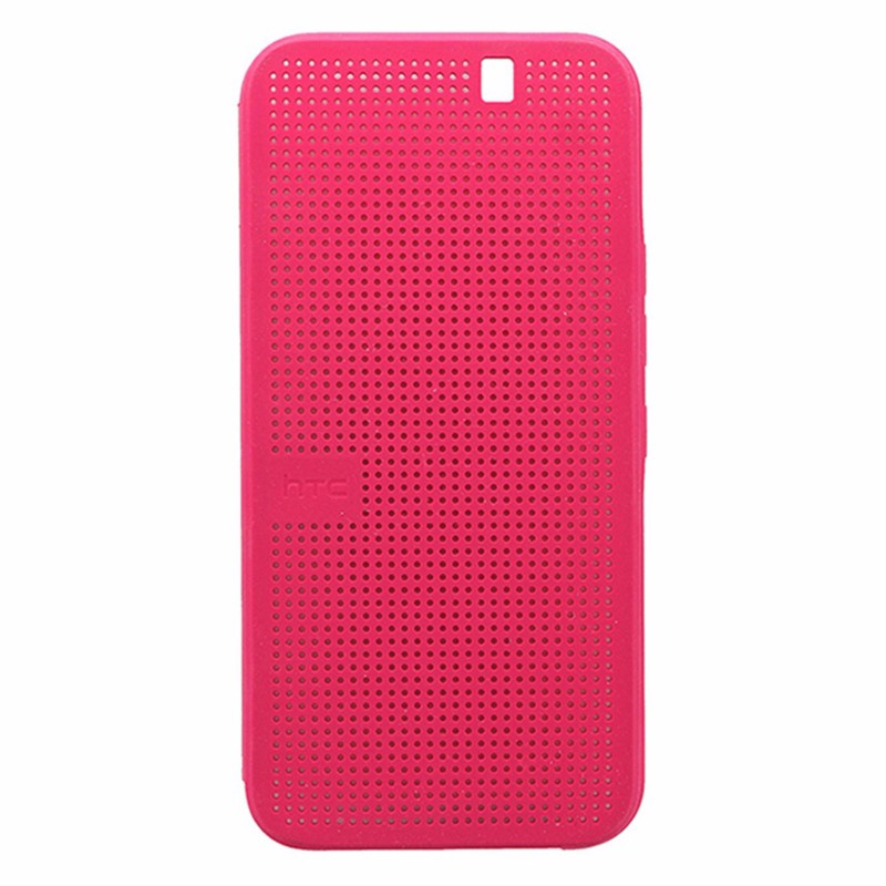 HTC One Dot View II Ice Premium Case for HTC One M9 Pink *99H20116-00
