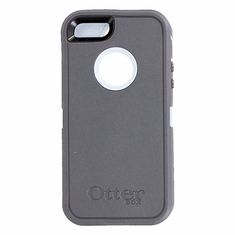OtterBox Defender Series Case for Apple iPhone 5 ONLY - Glacier (Gray/White)