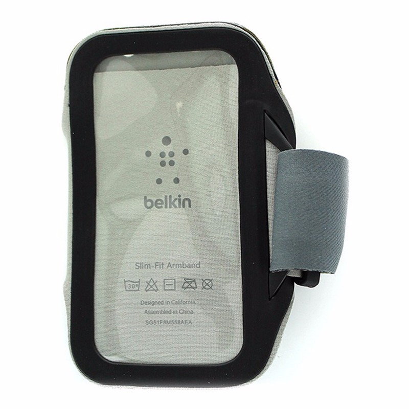 Belkin Slim-Fit Armband for Samsung Galaxy S4 Black and Gray