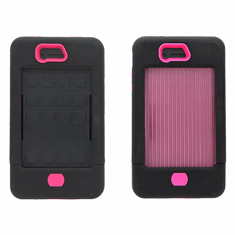 Case-Mate Tank Case w/ Holster for Apple iPhone 4 4S Black and Pink
