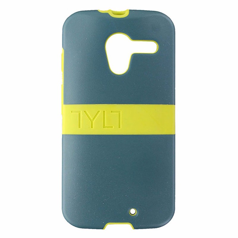Tylt Band Case for Motorola Moto X - Turquoise and Neon Green