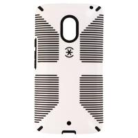 Speck CandyShell Grip Series Hybrid Case for Motorola Droid Maxx 2 - White/Black