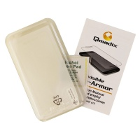 Qmadix Invisible Tech-Armor Tempered Glass Screen for HTC Desire 612 - Clear