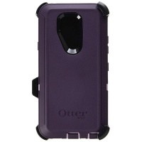 OtterBox Defender Series Case and Holster for LG G7 ThinQ - Purple/Light Purple