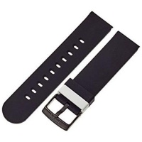 Hadley Roma MODE b&nd 22mm Silicone Active Watch Band - Black