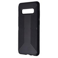 Speck Presidio Grip Series Case for Samsung Galaxy S10+ (Plus) - Black
