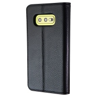 Case-Mate Wallet Folio Phone Case for Samsung Galaxy S10e - Black Leather