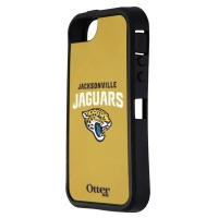 OtterBox Exterior Shell for iPhone SE/5s/5 Defender Series Cases - Jaguars NFL