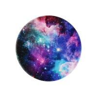 PopSockets PopGrip Swappable Grip and Stand for Phones and Tablets - Blue Nebula