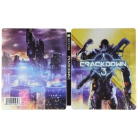 NO GAME INCLUDED - Crackdown 3 Collectible Steelbook Game Case