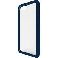 BodyGuardz Trainr Hybrid Case for iPhone 8 Plus 7 Plus 6s Plus - Frost/Navy Blue
