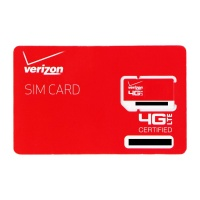 Verizon Wireless 4G LTE SIM Card 2FF (RETAILSIM4G-A)