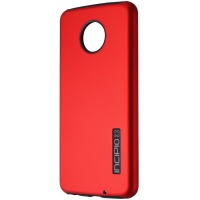 Incipio DualPro Series Case for Motorola Moto Z4 Smartphones - Red/Black