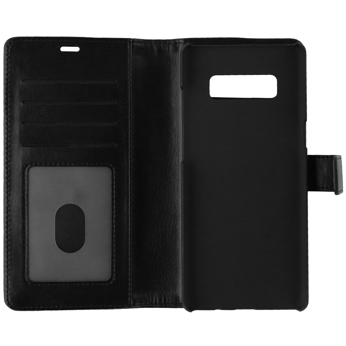 Skech Polo Book Folio Clutch Wallet Protective Case for Galaxy Note 8 - Black