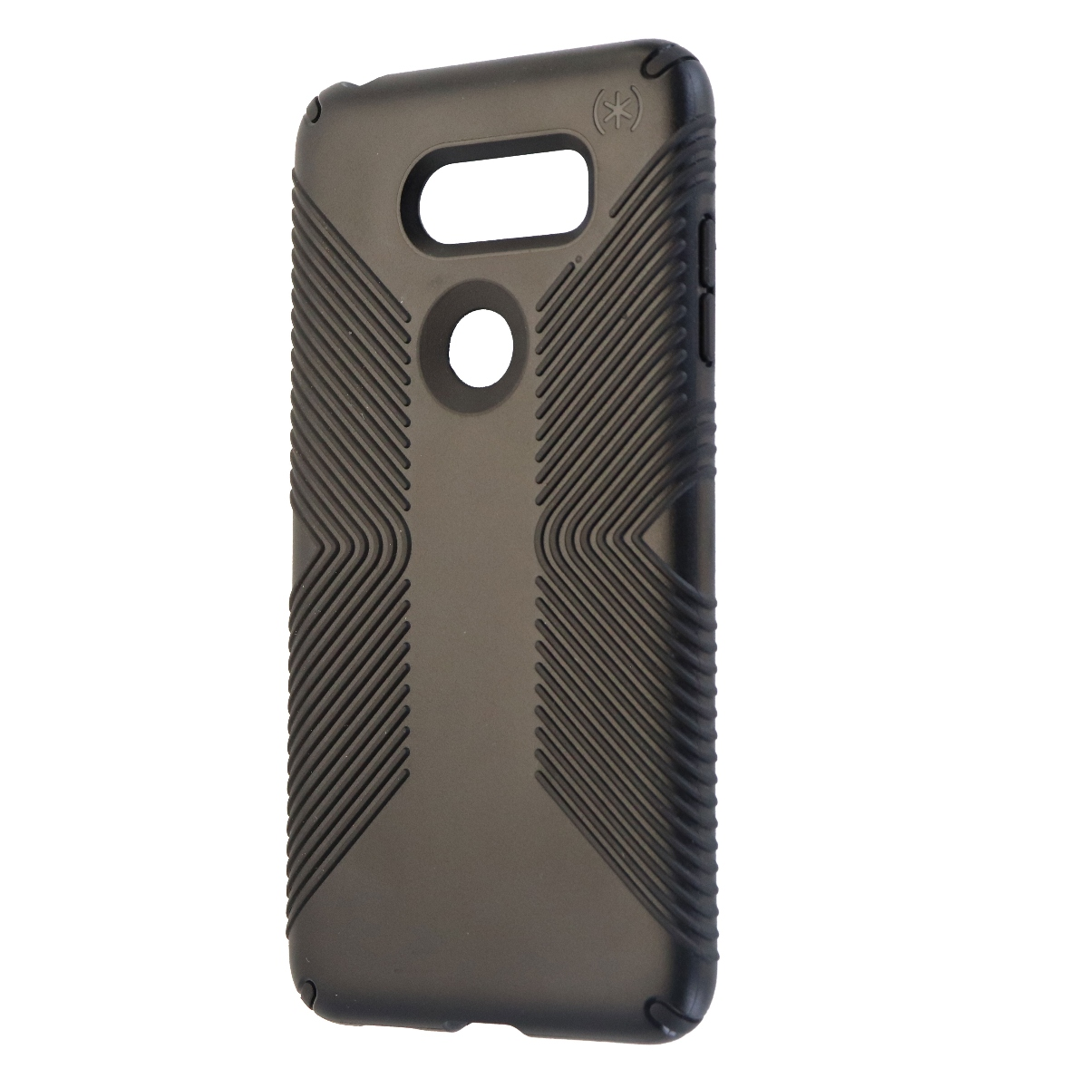 Speck Presidio Grip Series Hybrid Hard Case Cover for LG V30 - Black
