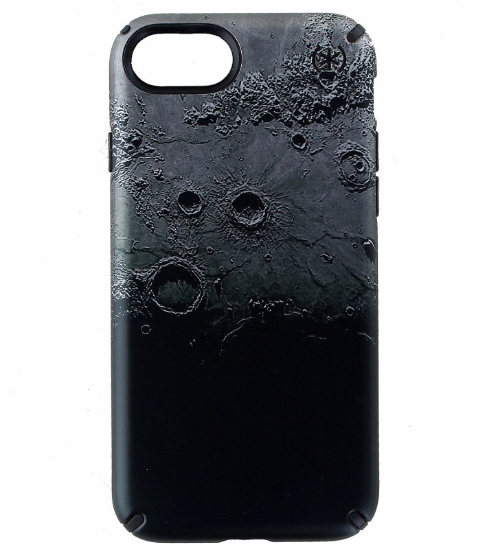 Speck Presidio Inked Hybrid Case Cover for iPhone 7 and 8 - Darkmoon Black