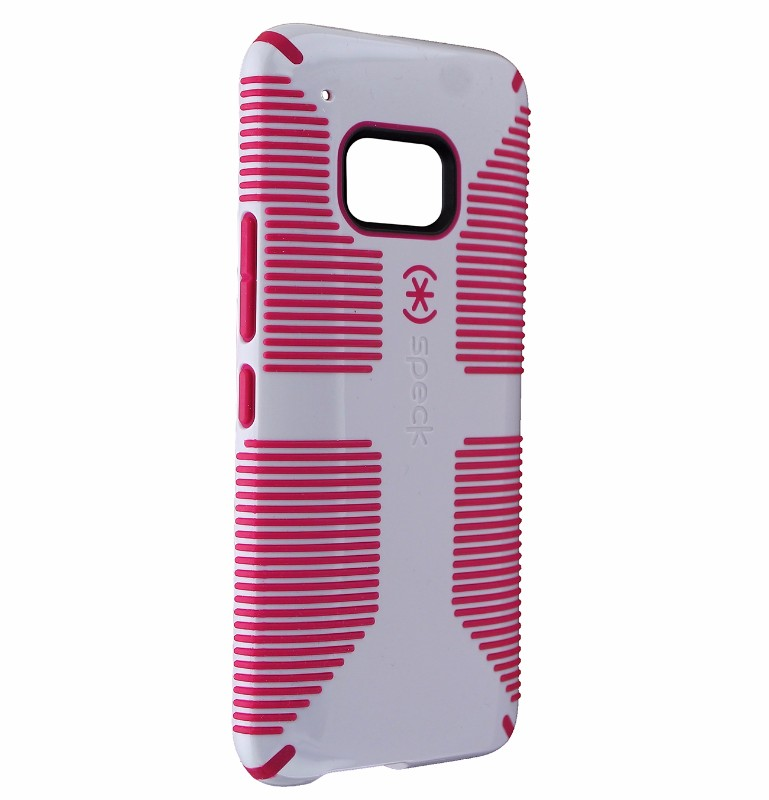 Speck CandyShell Grip Series Protective Case Cover for HTC One M9 - White Pink