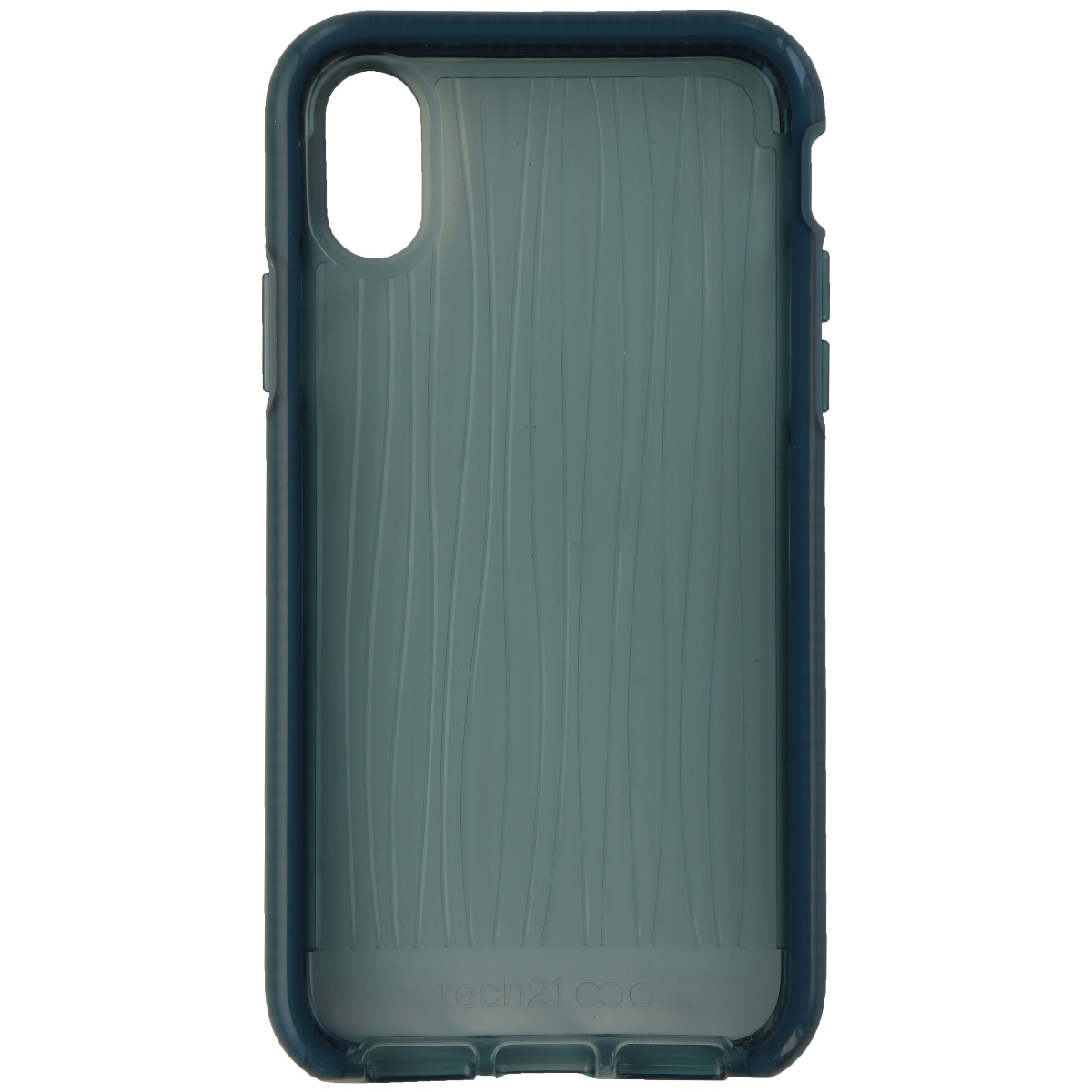 Tech21 Evo Wave Series Flexible Gel Case Cover for Apple iPhone X - Teal