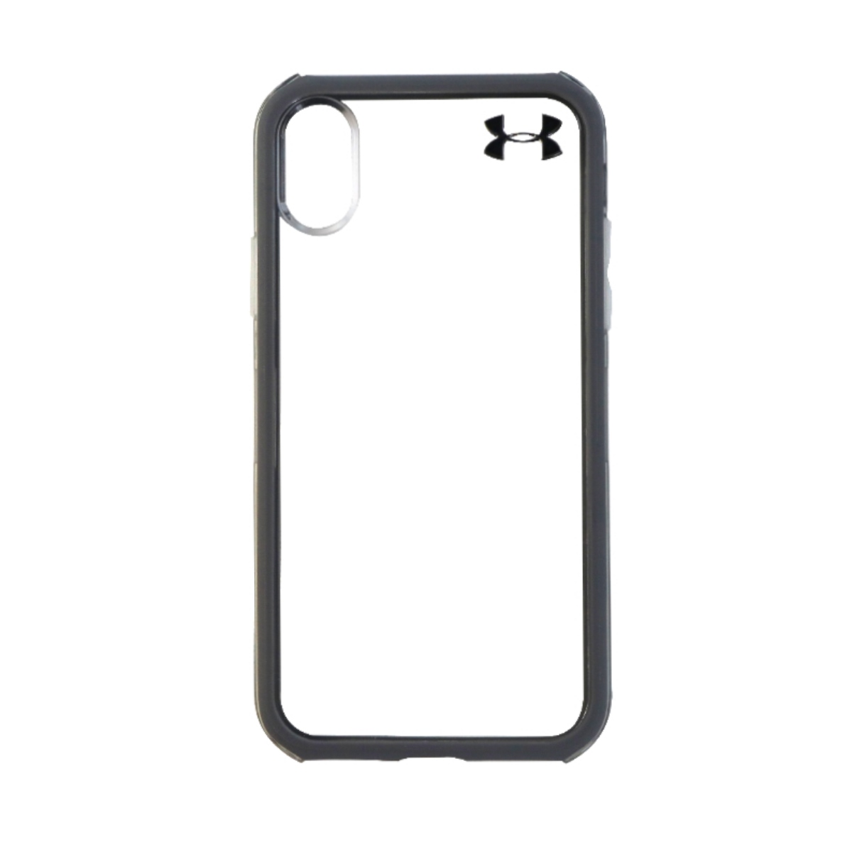 Under Armour Verge Series Hybrid Hard Case for Apple iPhone X 10 - Clear/Gray