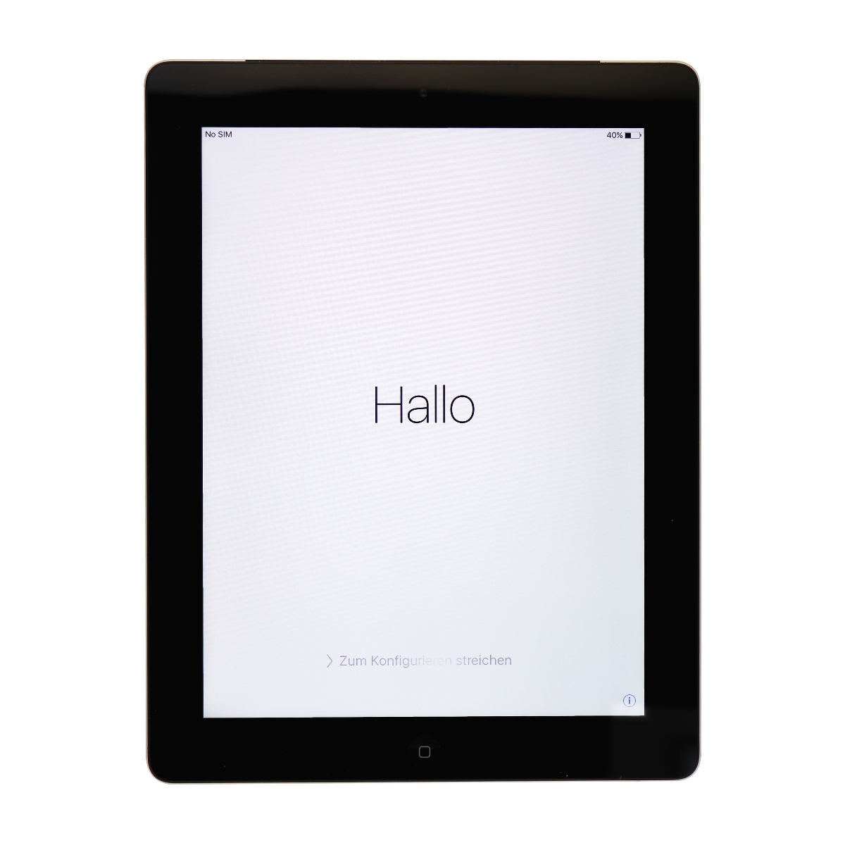 Apple iPad 3rd Generation A1403 (Verizon Wireless) 4G LTE Tablet 16GB Black