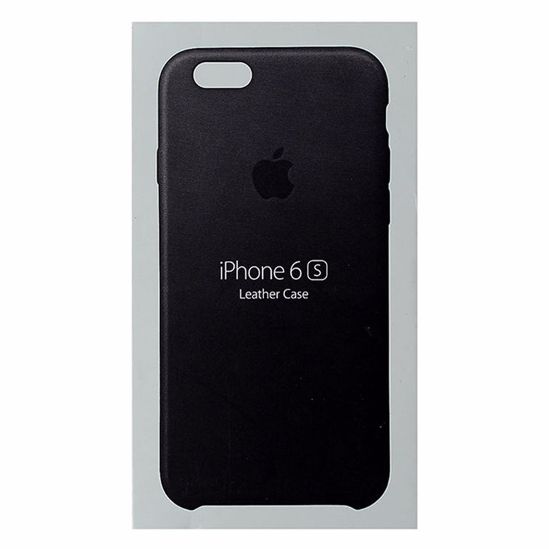Apple Leather Case for the Apple iPhone 6S and iPhone 6 - Black Leather