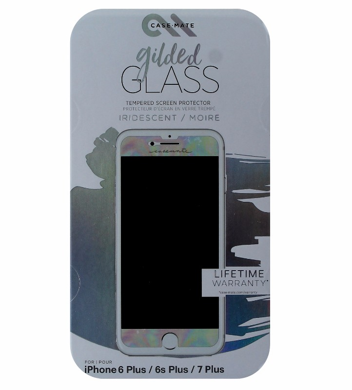 Case-Mate Gilded Tempered Glass for iPhone 7 Plus 6s Plus 6 Plus - Iridescent