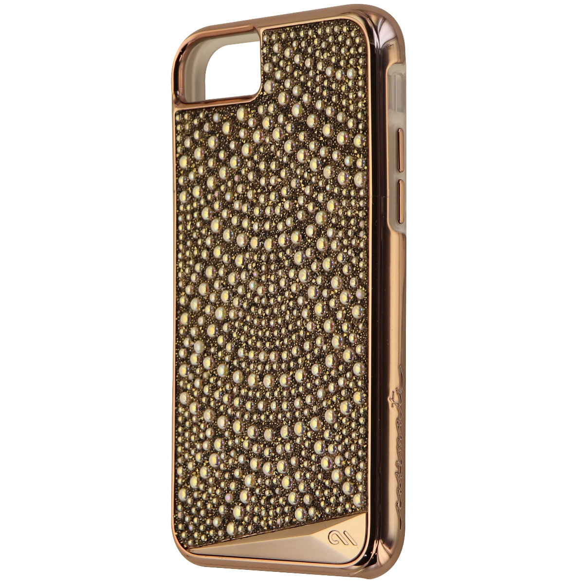 Case-Mate Brilliance Lace Case for iPhone 8 / 7 / 6s - Pearl and Crystal