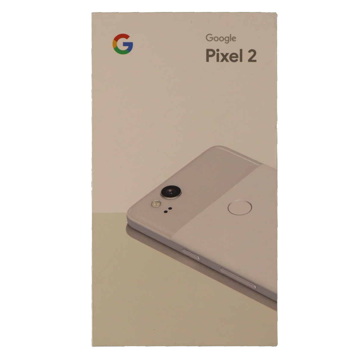 Google Pixel 2 Empty Box Only NO Phone NO Manual Clearly White