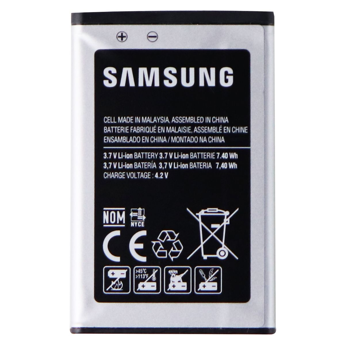 Samsung Rechargeable 2,000mAh (EB-BG780CBU) Battery for Samsung Rugby 4