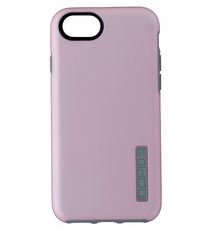 Incipio DualPro Series Dual Layer Case Cover iPhone 7 6s 6 - Light Pink / Gray