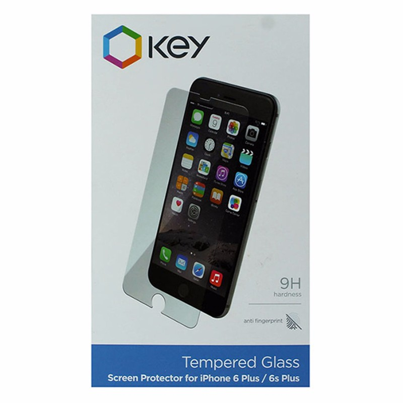 Key 9H Tempered Glass Screen Protector for iPhone 6 Plus / 6s Plus - Clear
