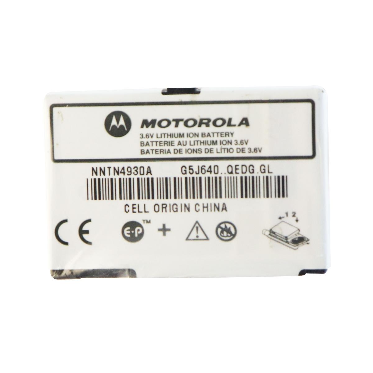 OEM Motorola 3.6v Lithium Ion Battery NNTN4930A for Motorola Devices - White
