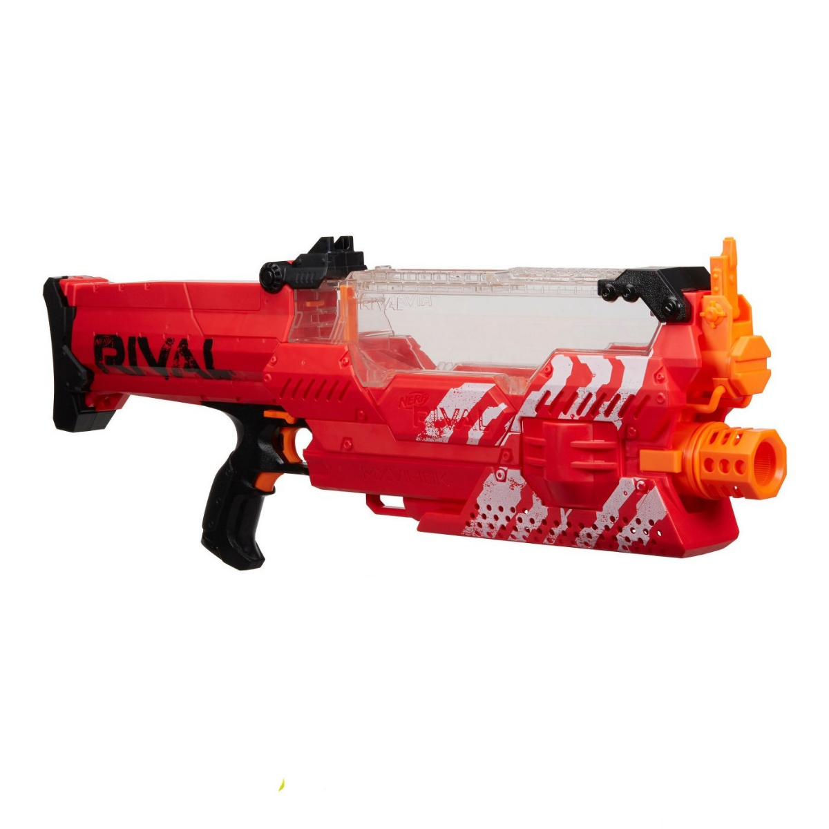 Nerf Rival Nemesis MXVII-10K Motorized Rapid Fire Blaster w/ 100 Rounds - Red