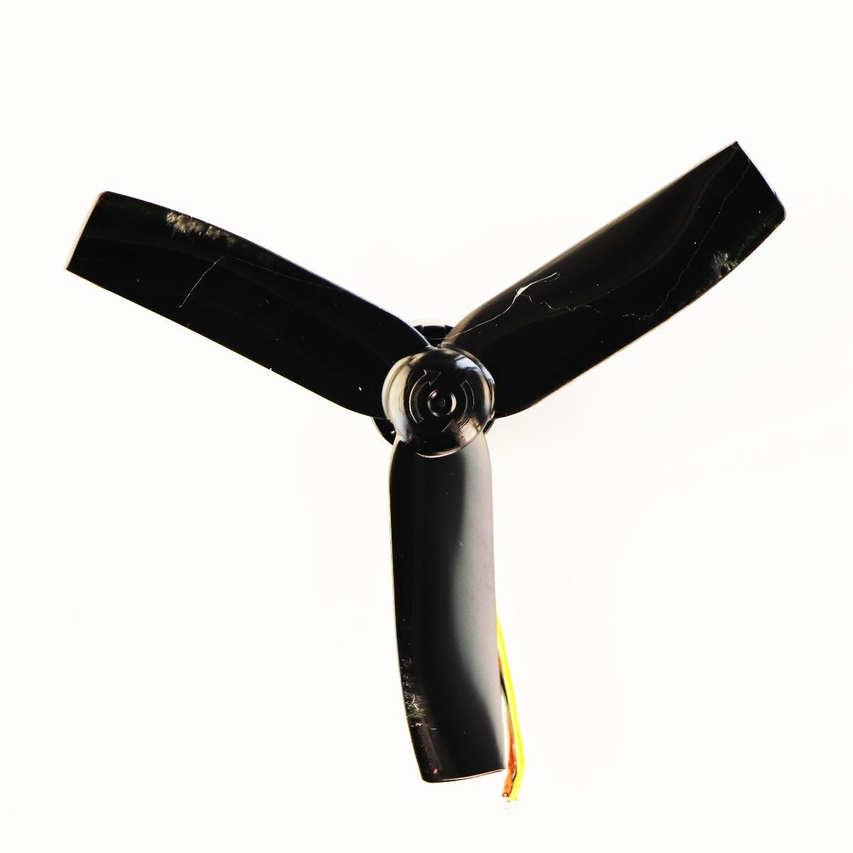 Original Rova Selfie Drone Replacement Part Counter Clockwise Propeller - Black